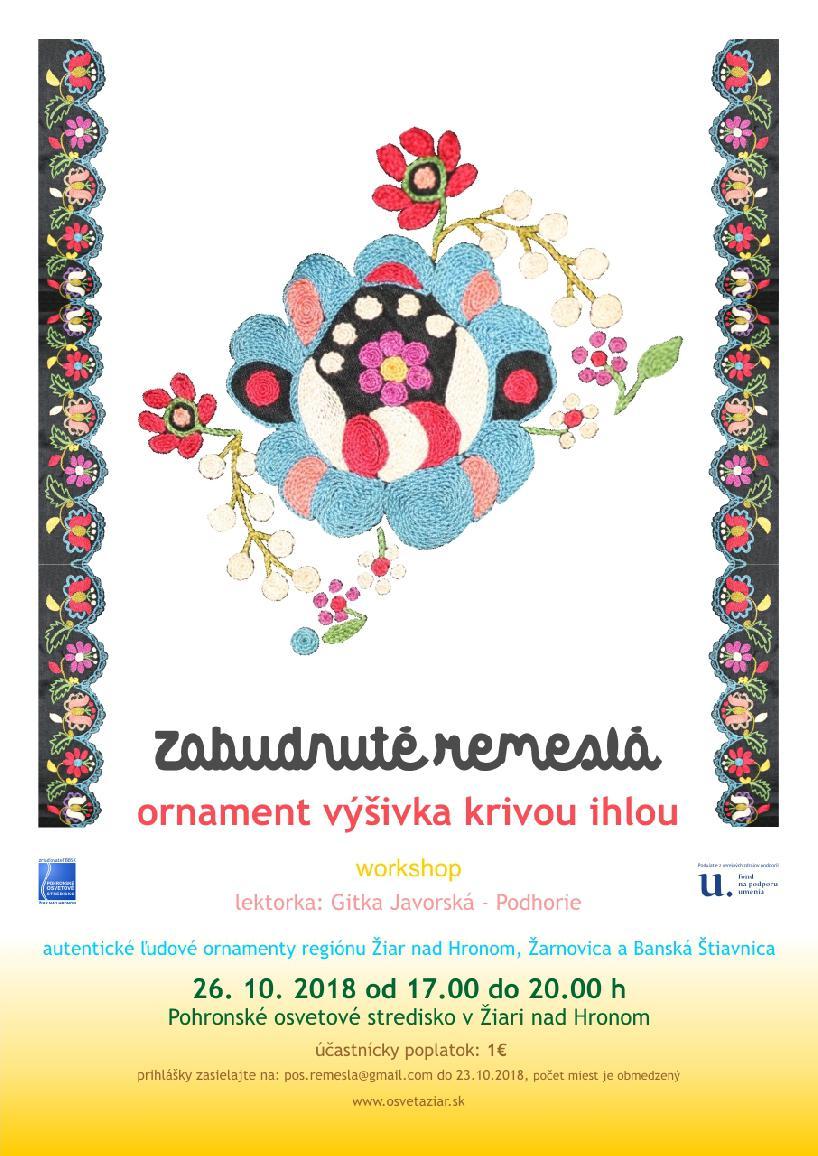 6fb28cdd7 Zabudnuté remeslá – ornament výšivka krivou ihlou   www.osvetaziar.sk