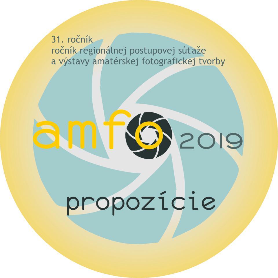 AMFO 2019 - propozície