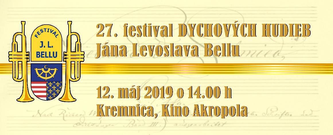 27. festival dychových hudieb Jána Levoslava Bellu