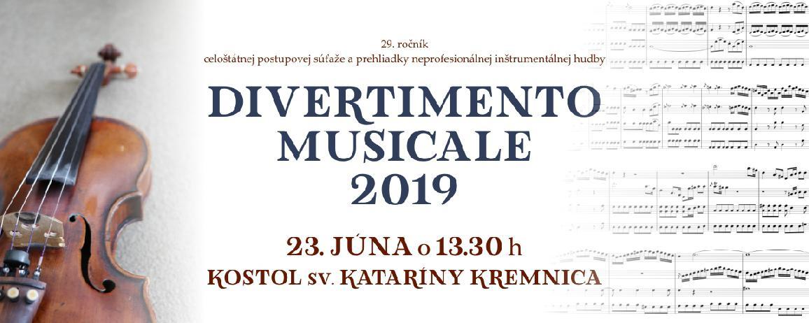 Divertimento musicale 2019