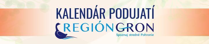 Región GRON kalendár podujatíseptember / október 2019