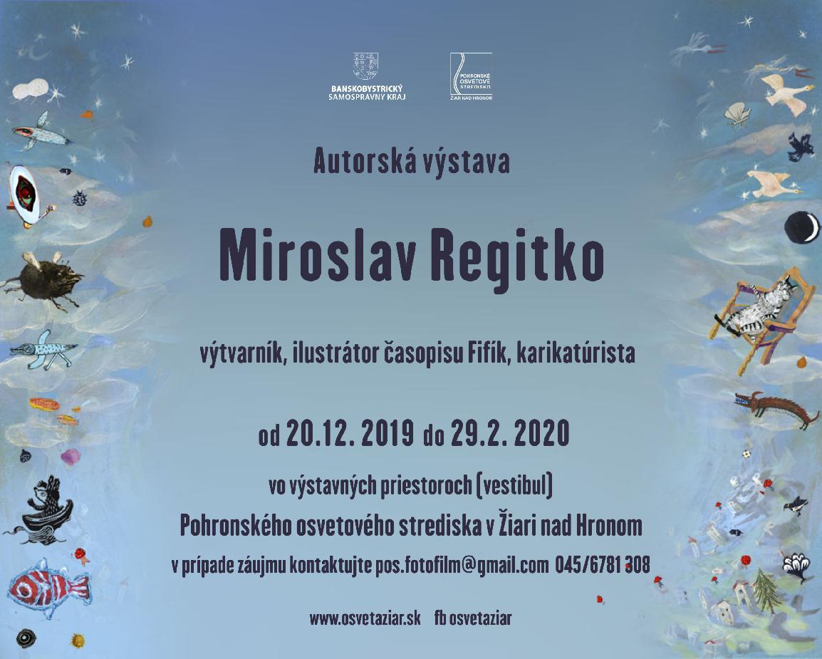 Výstava Miroslav Regitko