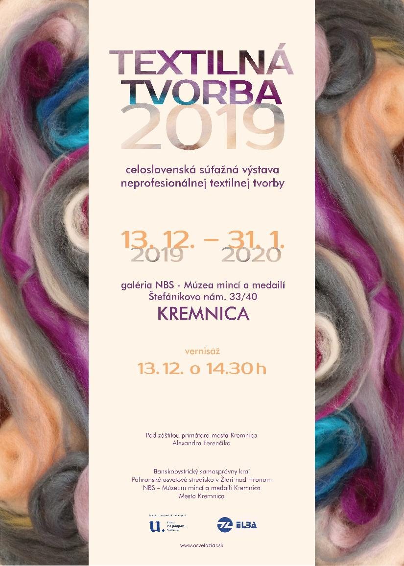Textilná tvorba 2019