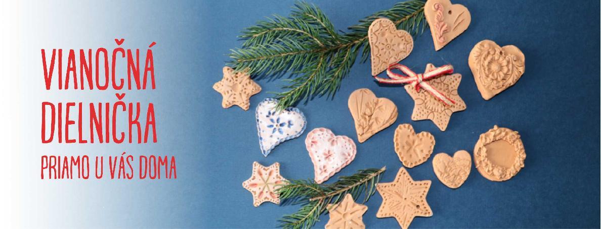 Vianočná dielnička priamo u vás doma